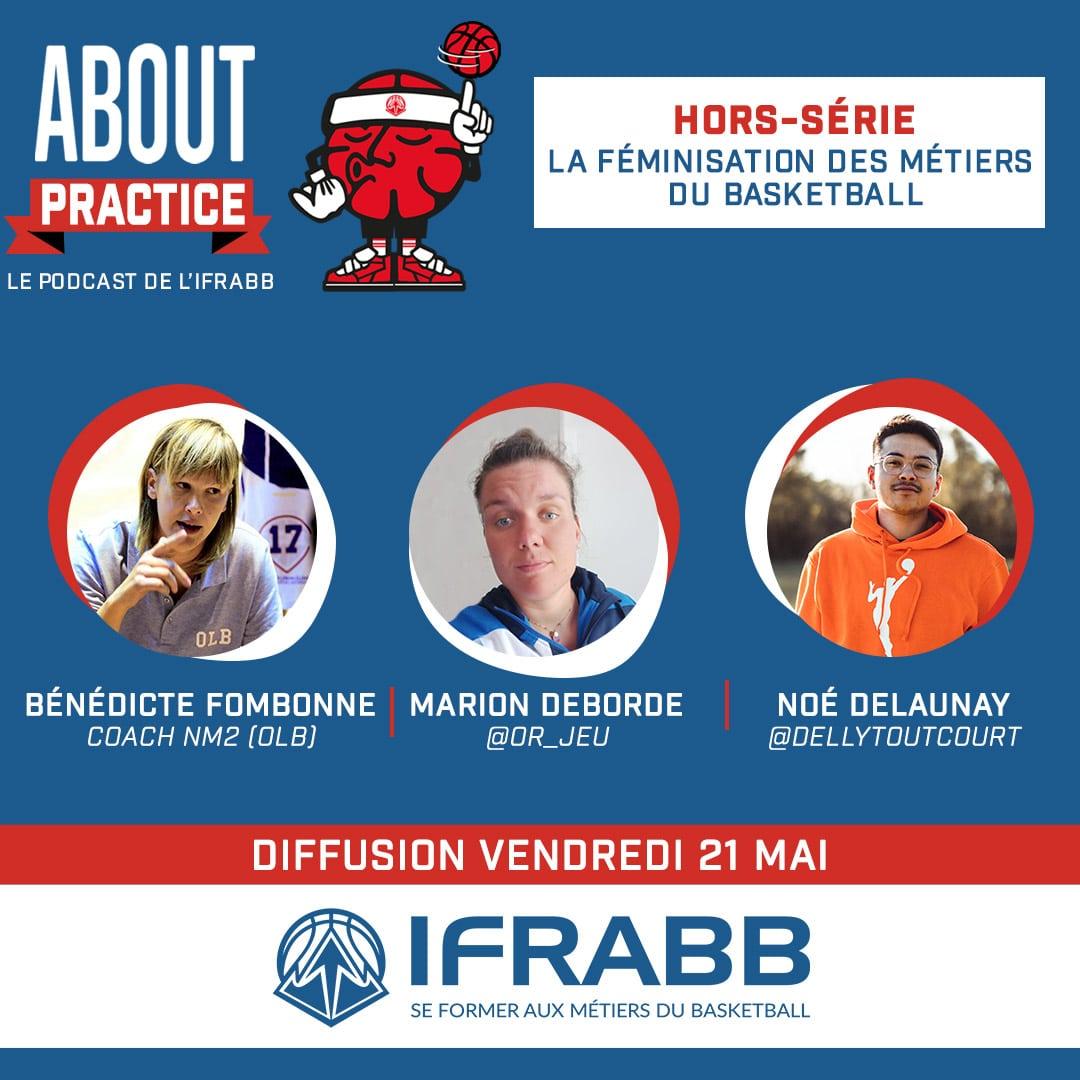 About Practice Hors-série : La féminisation des métiers du basketball