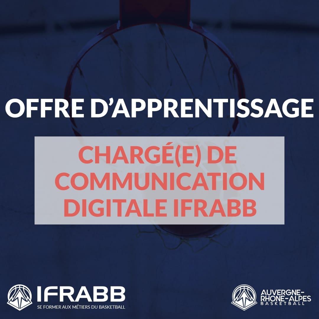 Offre d'apprentissage : Chargé(e) de communication digitale IFRABB